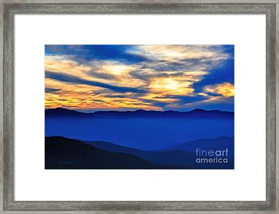 Sunset At The Max Framed Print