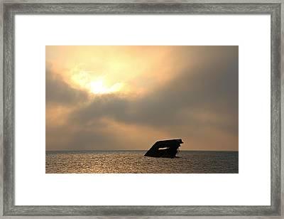 Sunset Beach Framed Print by Stephanie Tomlinson
