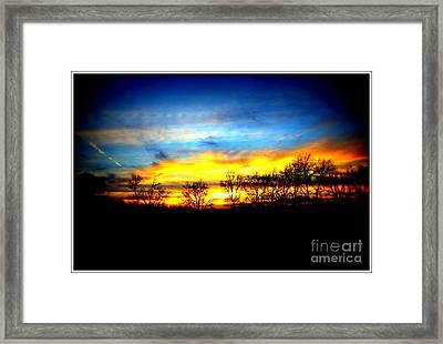 Sunset Beauty Framed Print