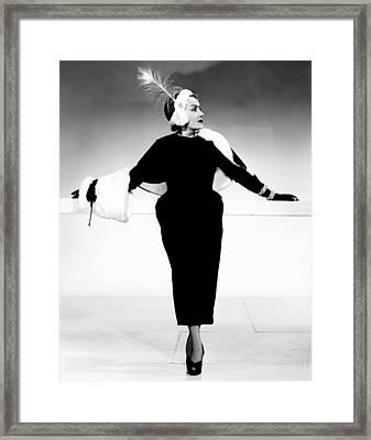Sunset Boulevard, Gloria Swanson Framed Print by Everett