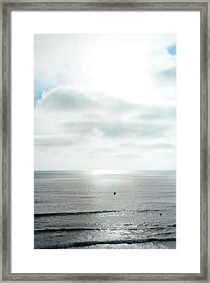 Sunset - California - Pacific Ocean Framed Print