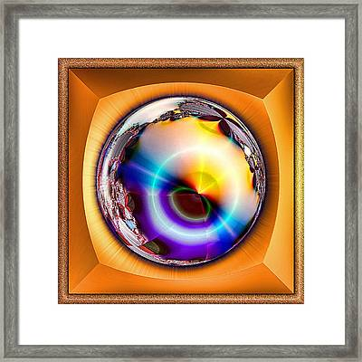 Sunset Capture Framed Print by Wendy J St Christopher