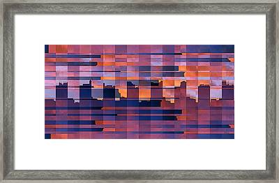 Sunset City Framed Print by Ben and Raisa Gertsberg