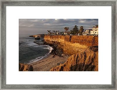Sunset Cliffs 1 Framed Print