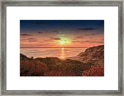 Sunset Cliffs 20130616 B Framed Print