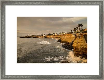 Sunset Cliffs 4 Framed Print