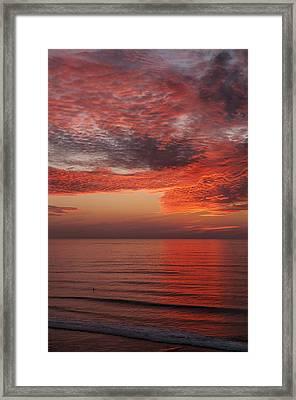 Sunset Cliffs Sunset 1 Framed Print