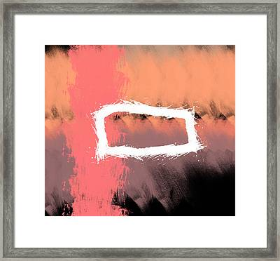 Sunset Framed Print by Condor