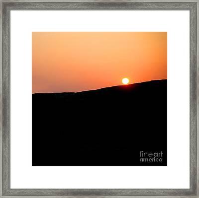 Sunset Framed Print by Craig B