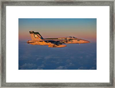 Sunset Cruise Framed Print by Ricky Barnard