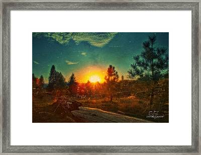 Sunset Framed Print by Dan Quam