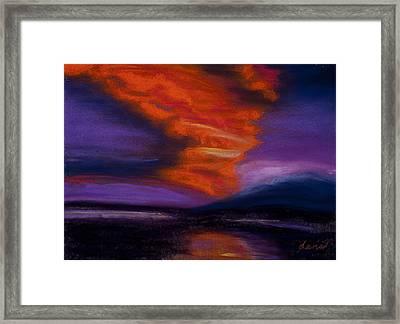 Sunset Framed Print by Dana Strotheide