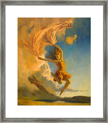 Sunset Dance Framed Print by Francois Girard