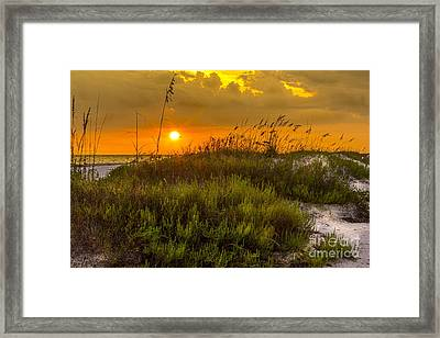 Sunset Dunes Framed Print by Marvin Spates
