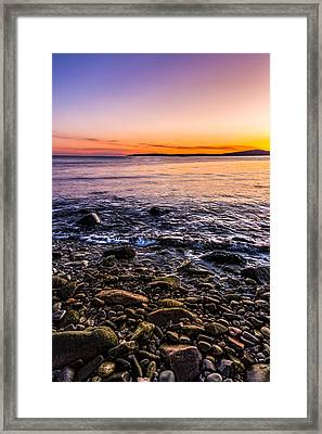 Sunset Photos Elgol Isle Of Skye Framed Print