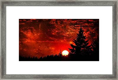 Sunset Fantasy I Framed Print