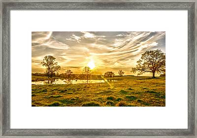 Sunset Flavour  Framed Print by Ahmed Shanab