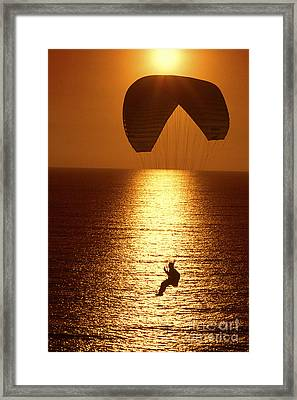 Sunset Flight Framed Print by Paul W Faust -  Impressions of Light