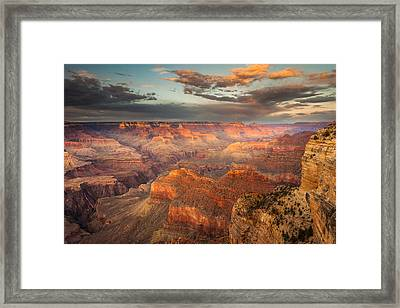 Sunset From Hopi Point Framed Print