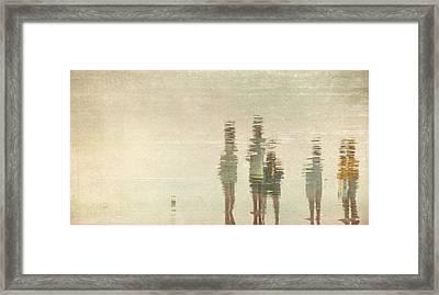 Sunset Gathering Framed Print