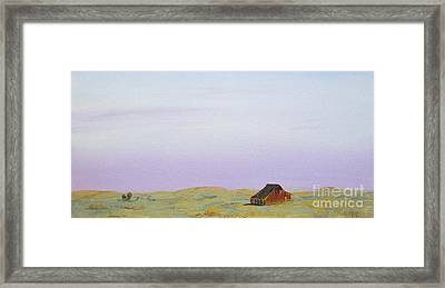 Sunset Glow 2 Framed Print