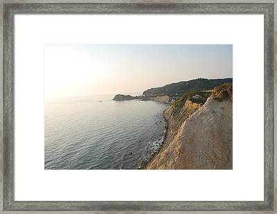 Framed Print featuring the photograph Sunset Gourna by George Katechis