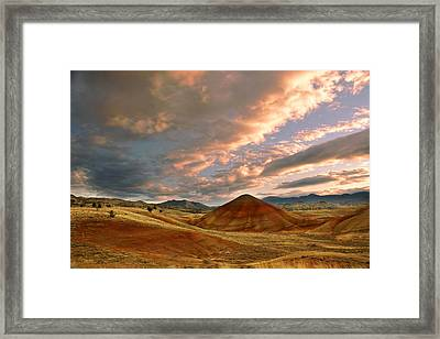 Sunset Hill Framed Print