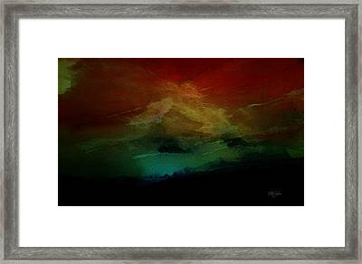 Sunset I Framed Print by Isabel Salvador
