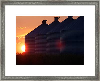 Sunset I Framed Print by Sarah Boyd