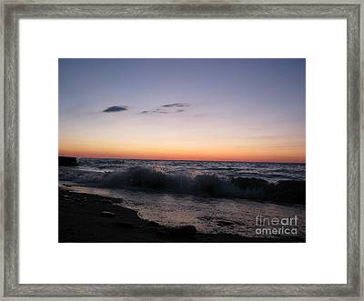 Sunset II Framed Print