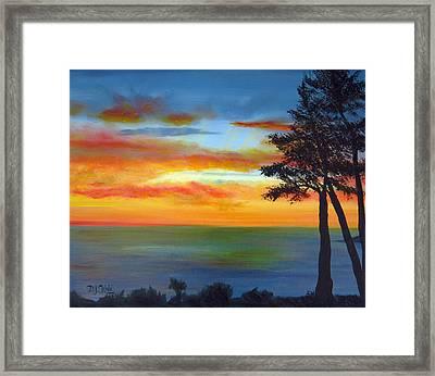 Sunset IIi Framed Print by Dottie Kinn