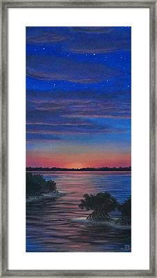 Sunset In Islamorada Framed Print by J Barth