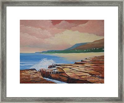 Sunset In New South Wales Framed Print