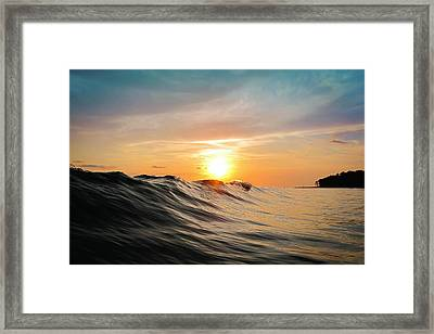 Sunset In Paradise Framed Print by Nicklas Gustafsson