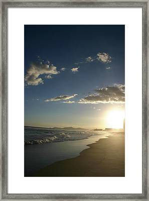 Sunset In Rio Framed Print by Frederico Borges