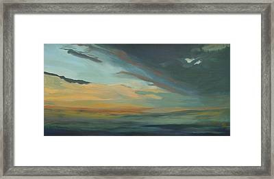 Sunset In St. Petersburg Framed Print