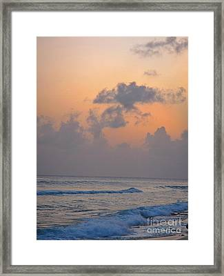 Sunset In The Tropics Framed Print by John Malone