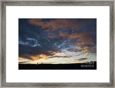 Sunset In Utah Framed Print