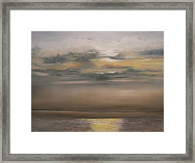 Sunset - Indian Rocks Beach Framed Print