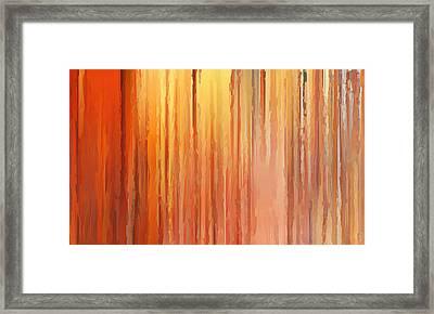 Sunset Infinity Framed Print