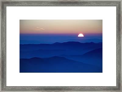 Sunset Framed Print by Ioan Panaite