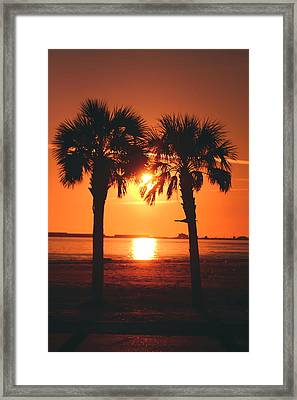 Sunset Framed Print by Jennifer Burley