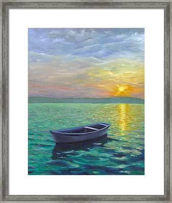 Sunset Framed Print by Joe Maracic