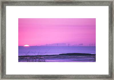 Sunset Framed Print by Spikey Mouse Photography
