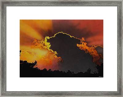 Sunset Framed Print by Konstantinos-Pimba Botas