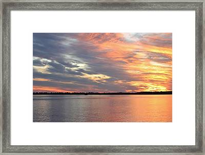 Sunset Magic Framed Print