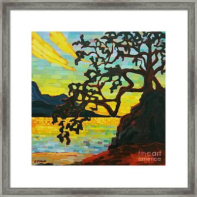 Sunset Mambo Framed Print