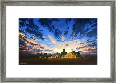 Sunset Memories Framed Print by Douglas Castleman