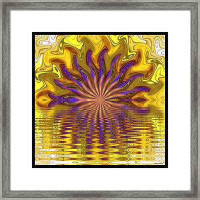 Sunset Of Sorts Framed Print