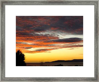 Sunset On Bantry Bay Framed Print